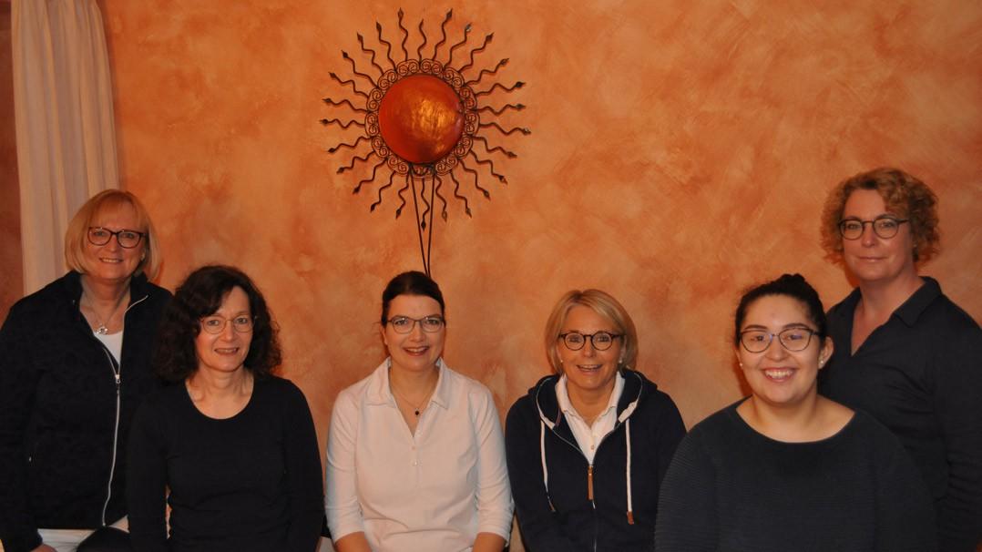 Praxisteam der Frauenarztpraxis Dr. med. Sonja Frenk in Borken